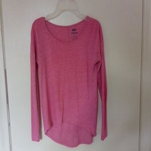 Light pink long sleeve shirt